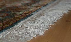 Naprawa frędzli dywanu