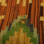 Uszkodzony fragment kilimu