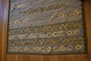 Przepiękny kilim po naprawie