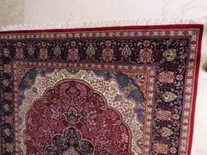 Rekonstrukcja dywanu orientalnego
