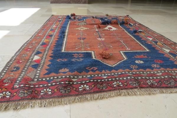 uzupełnienie runa dywanu orientalnego