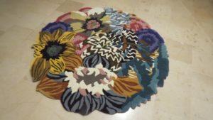 Znów piękny, naprawiony dywan tufftingowy