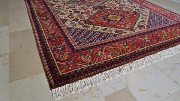 Odtworzone frędzle bawełniane