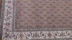 Zbliżenie wzoru dywanu