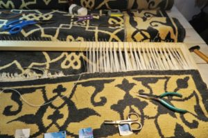 Renowacja bawełnianych frędzli