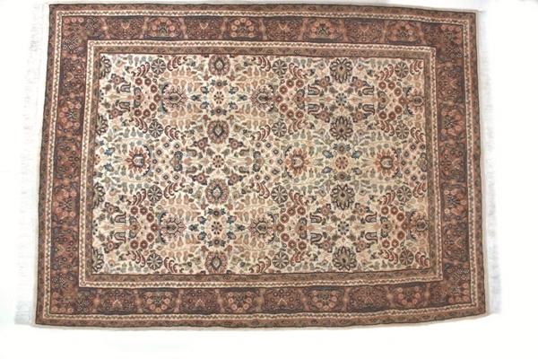 Ręcznie wiązany dywan wełniany