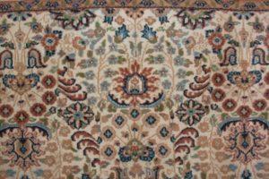 Zbliżenie wzoru dywanu indopers