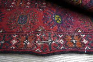Dziura w dywanie afgańskim