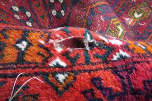 Widok dziury od strony runa