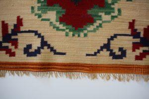 Zabezpieczony brzeg kilimu
