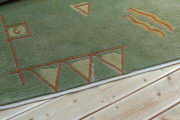 Zabezpieczony brzeg dywanu