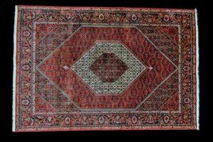 Bidjar -Widok środka dywanu