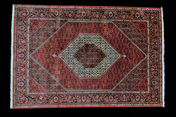 Widok środka dywanu