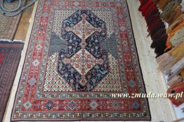 Naprawiony dywan w całej okazałości
